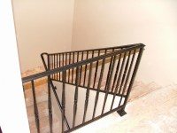 Fusion Metalworks  Wrought Iron  Interior Stair Railings