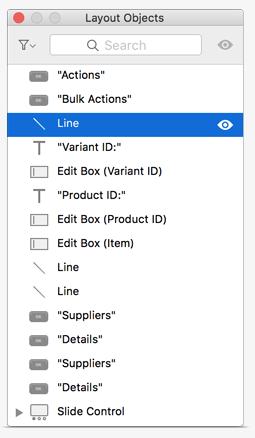 FileMaker 16 Layout Objects