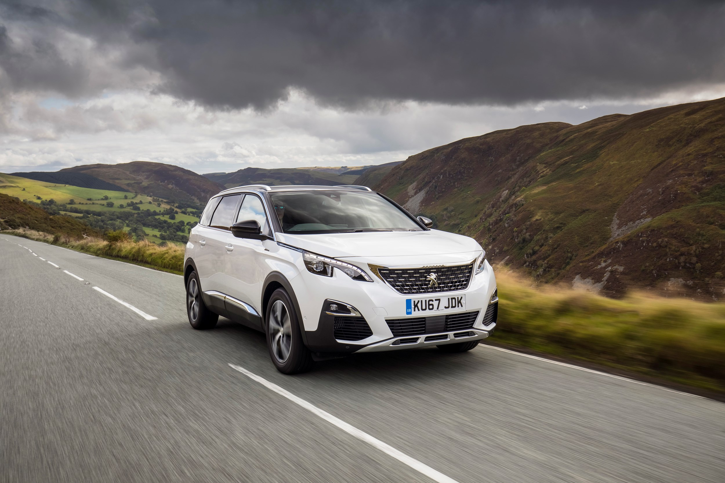 Peugeot First Car First Drive Peugeot 5008 Company Car Review Company Car