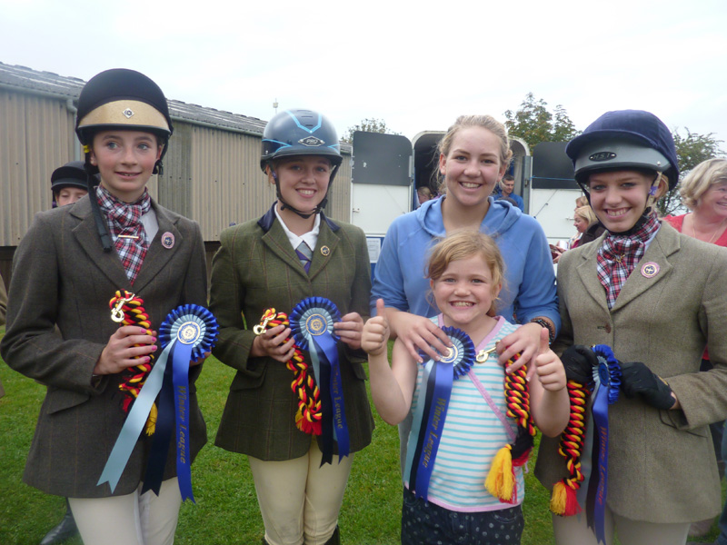 East Cheshire Winter League Show Jumping results …