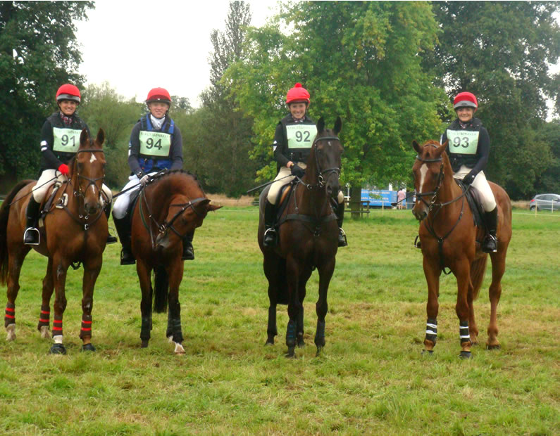 Flint and Denbigh Hunt Pony Club at the Champs