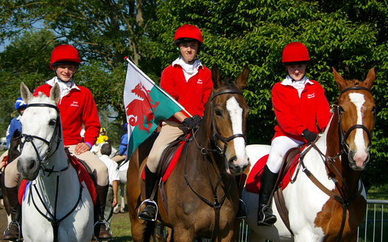 The Pony Club Tetrathlon Royal Windsor competition