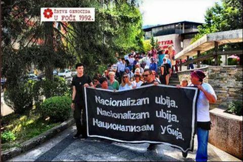 Foča 1992. - 1995. - žrtve genocida u centru Foče