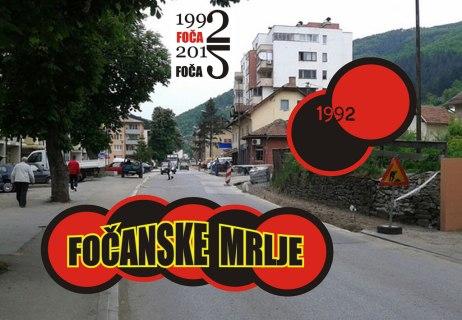 Fočanske mrlje 1992. - 1995.