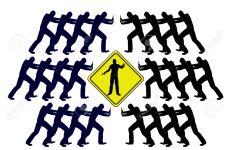 Sobre conflicto horizontal y vertical
