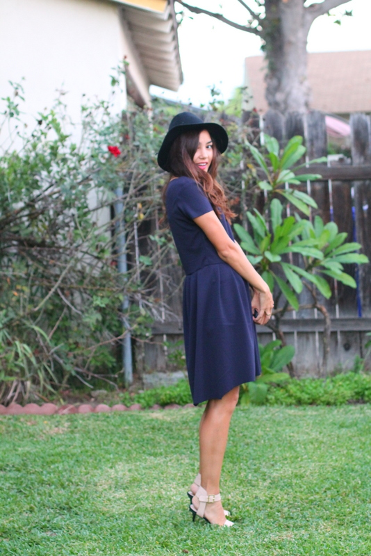 blue dress diy