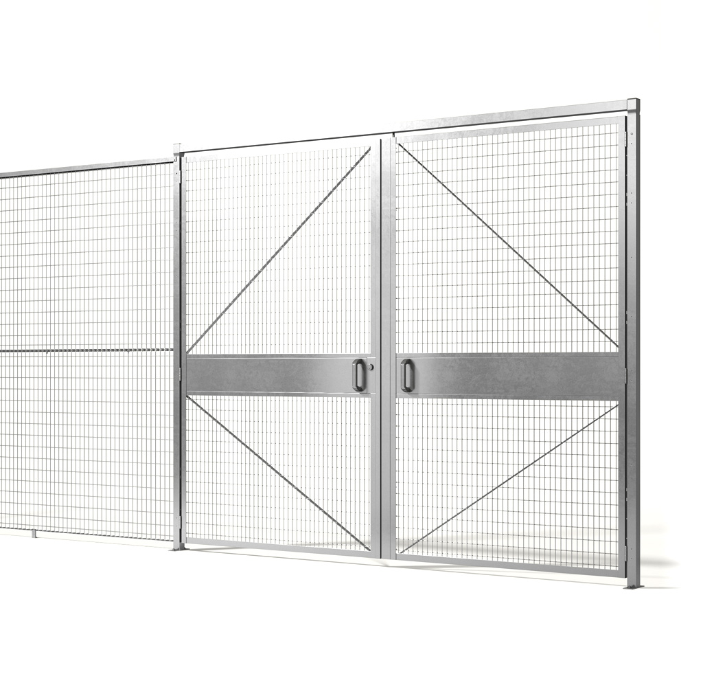 machinery wire fence partition panel