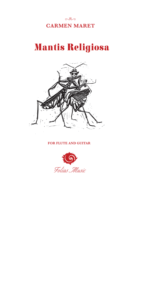 Folias Duo Mantis Religiosa Tango Sheet Music