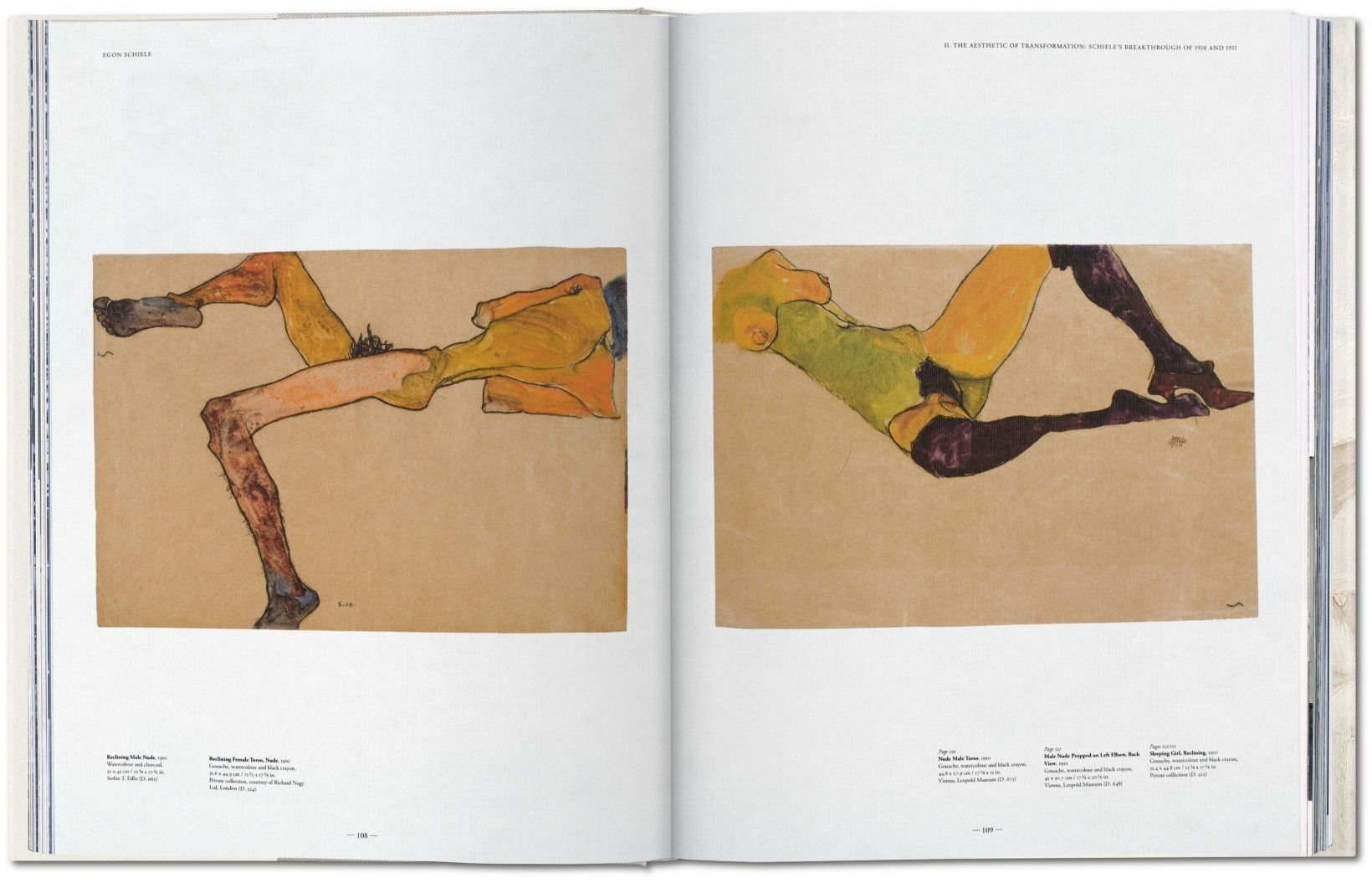 Egon Schiele Libro Egon Schiele The Complete Paintings 1909 1918