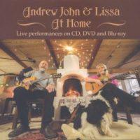 ANDREW JOHN & LISSA – At Home (Last Resort Records LRCD010)
