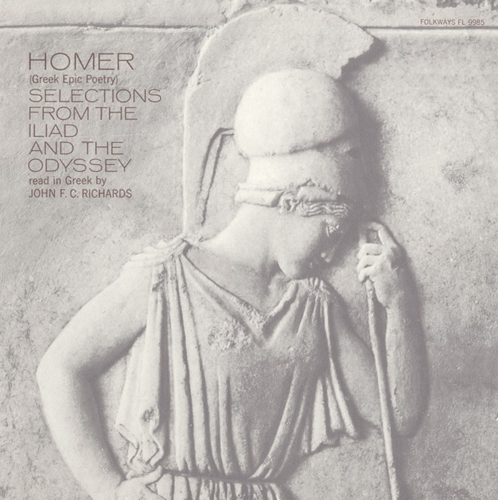 Homer - Greek Epic Poetry Read in Greek by John FC Richards