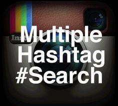 Cerca in Instagram da utenti, commenti, foto, #Hashtags