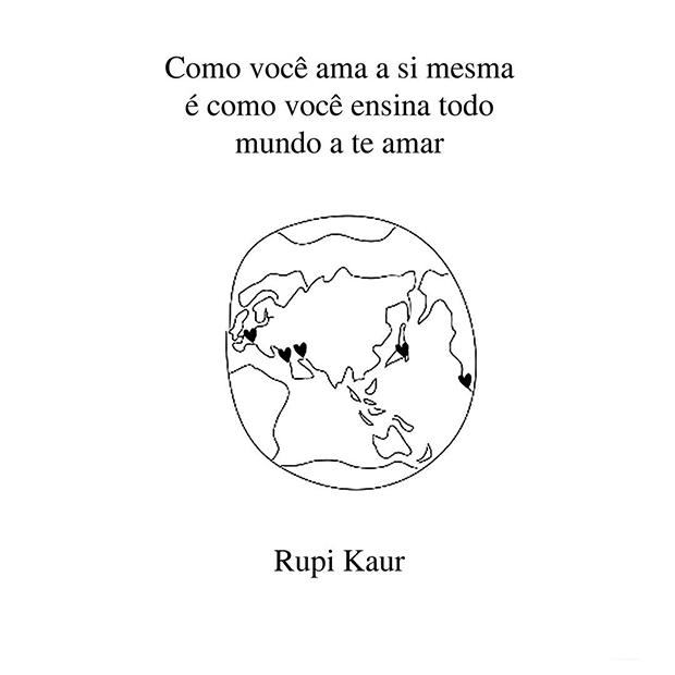 Rupi Kaur Quotes Wallpaper Rupi Kaur Faz Poesias De For 231 A E Sensibilidade Sobre Temas