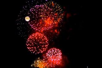 Feuerwerk in Prag