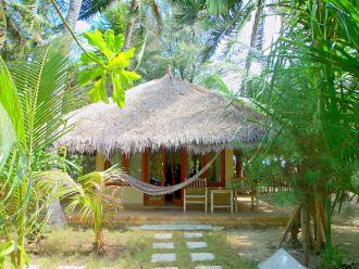 Bungalow auf Gili Air, Lombok