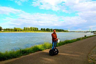 Segway fahren, Stadtführung durch Köln
