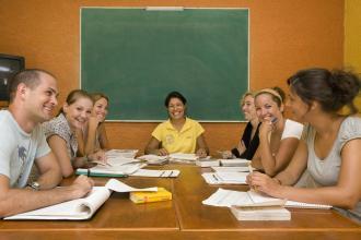 Klassenzimmer Mexico