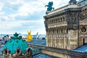 Aussicht Galerie Lafayette