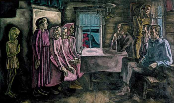 Северная песня. Из цикла «Мезенские вдовы». 1968