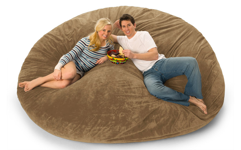 Sitzsack Sofa 8 Foot Lovesac Big One Foam Bag