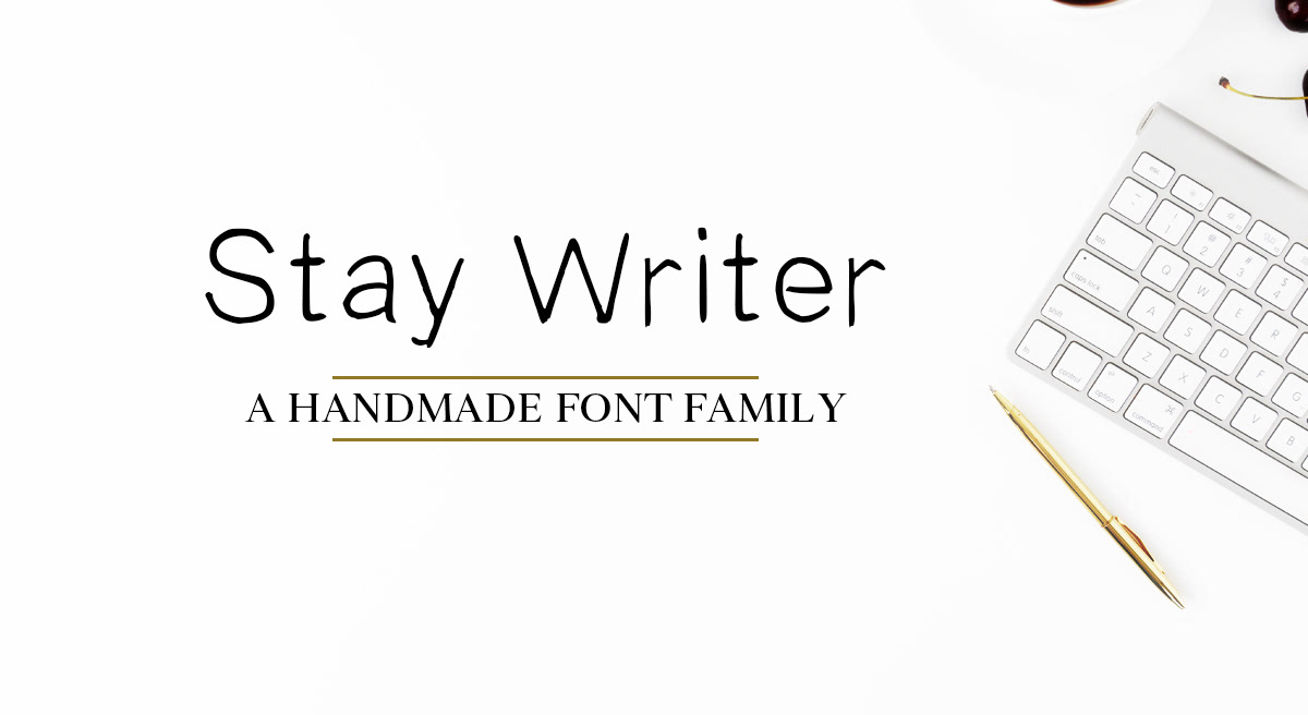 Stay Writer Free Font Fontsrepo