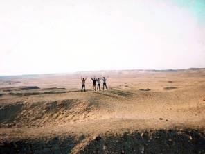 サッカーラの砂漠