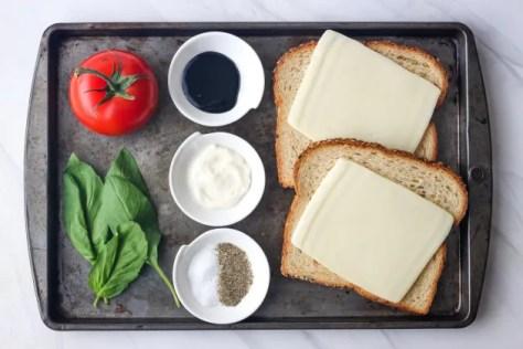 Toasted Caprese Sandwich Image