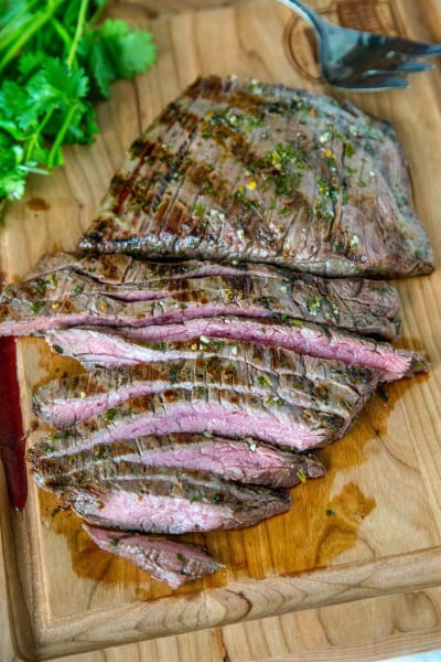 Grilled Chile Lime Flank Steak Pic