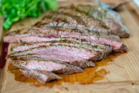 Grilled Chile Lime Flank Steak Photo