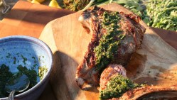 Extraordinary Salmoriglio Recipe Bbc Food Veal Chop Recipes Baked Veal Chop Recipes Bbq Barbecued Veal Chops Fresh Herbs