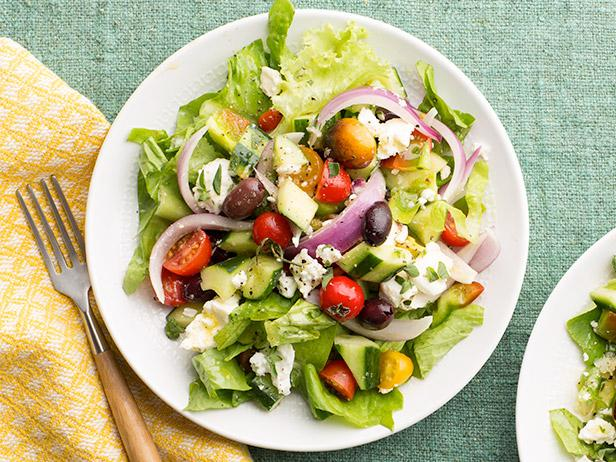 Greek Salad Recipe Food Network Kitchen Food Network