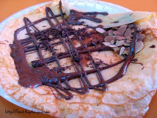 Nutella Crepe | La Crepe Fraiche - San Diego, CA