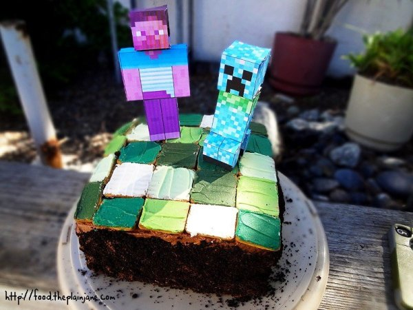 minecraft-cake-steve-creeper