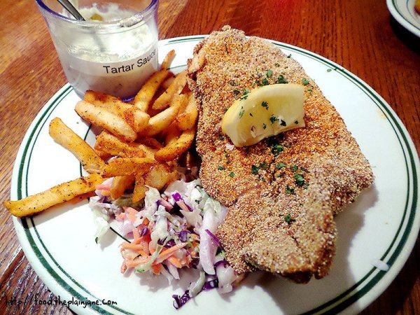 Cornmeal Crusted Fried Catfish at Bud's Louisiana Cafe
