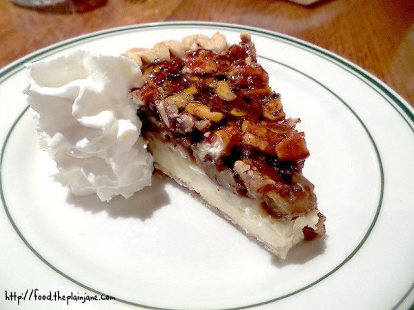 Pecan Pie Cheesecake at Bud's Louisiana Cafe