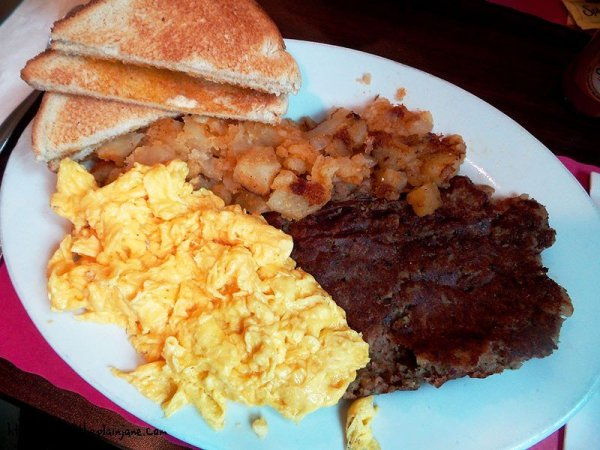 Corned Beef Hash Breakfast at My Diner - South Boston, MA