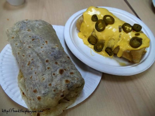 burritos - jv's mexican food - san diego, ca