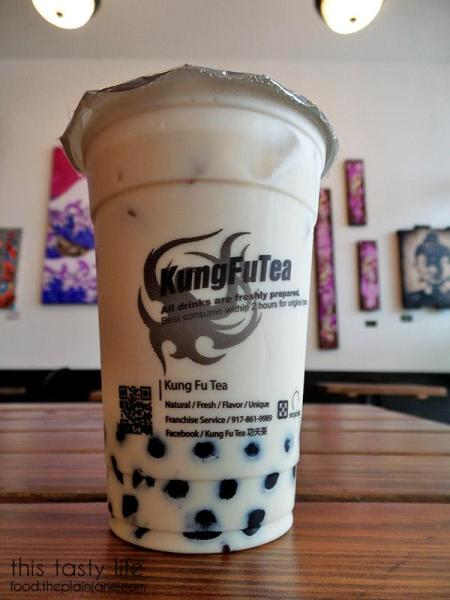 Honey Milk Tea with Boba - Kung Fu Tea | San Diego, CA