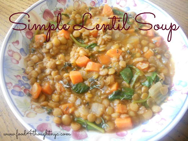 Paleo Orange and Lentil Soup