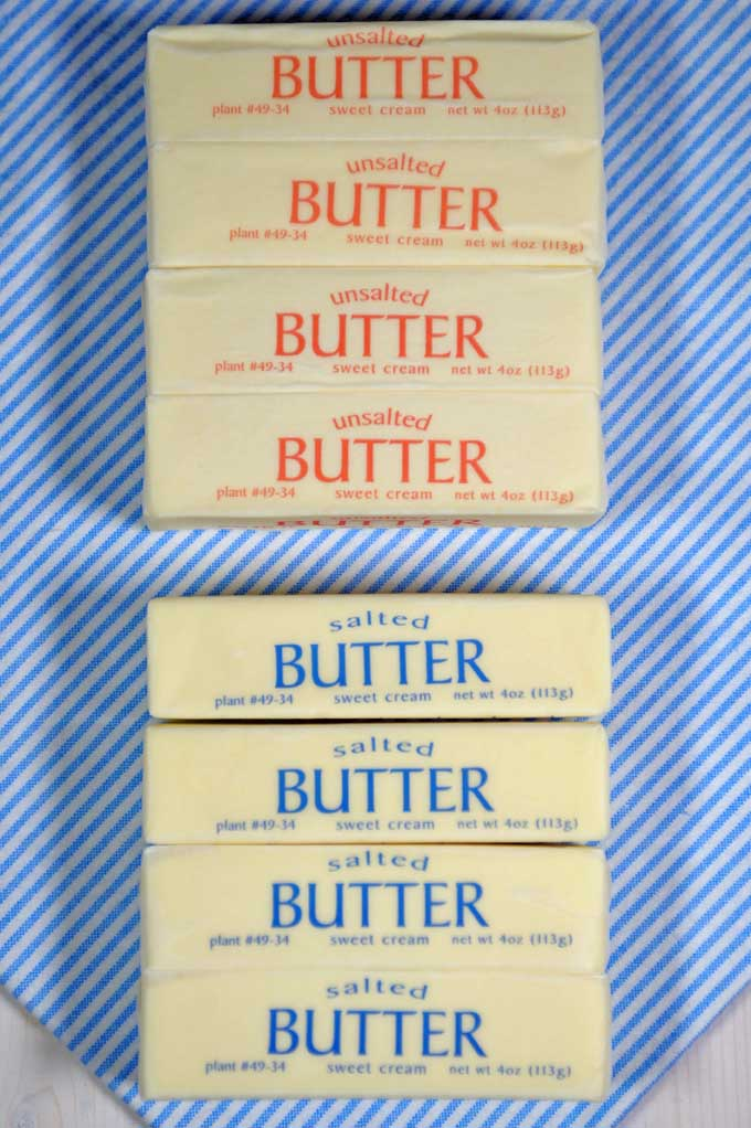 Unsalted vs Salted Butter \u2013 Which is Best for Baking? Foodal