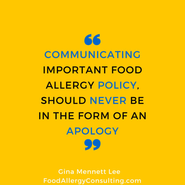 communicating-important-food-allergy-policy-should-never-be-in-the-form-of-an-apology