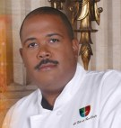 """Chef Julius Russell is """"a shy guy who cooks."""""""