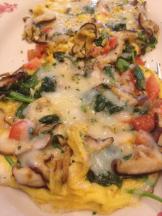 Maggiano's fresh veggie frittata
