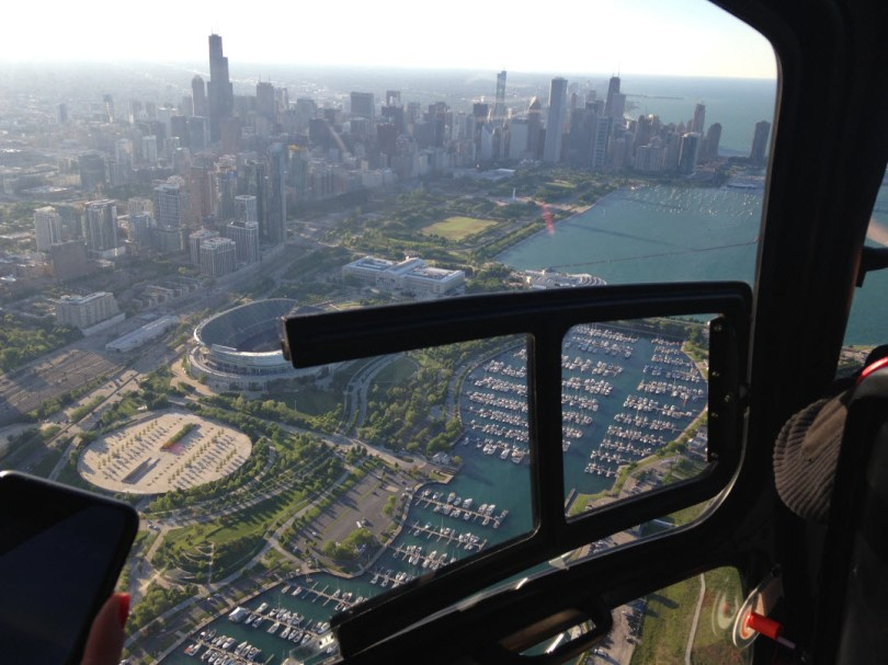 Chicago - south of downtown from a #CHEtours flight