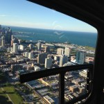 Looking south down the lake from a #CHEtours helicopter