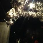 GT Prime's crystal chandelier