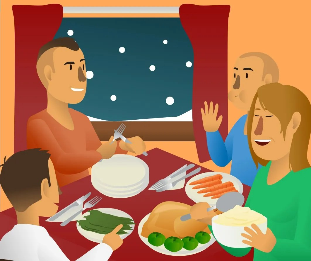 Night Table Clipart 5 Dinner Options For Everyone Food And Health Communications