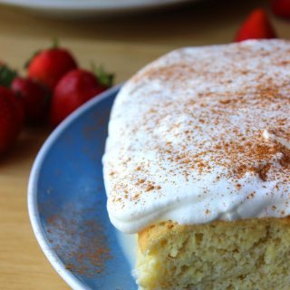 Authentic Pastel de Tres Leches (Tres Leches Cake) Recipe. Always gets rave reviews!