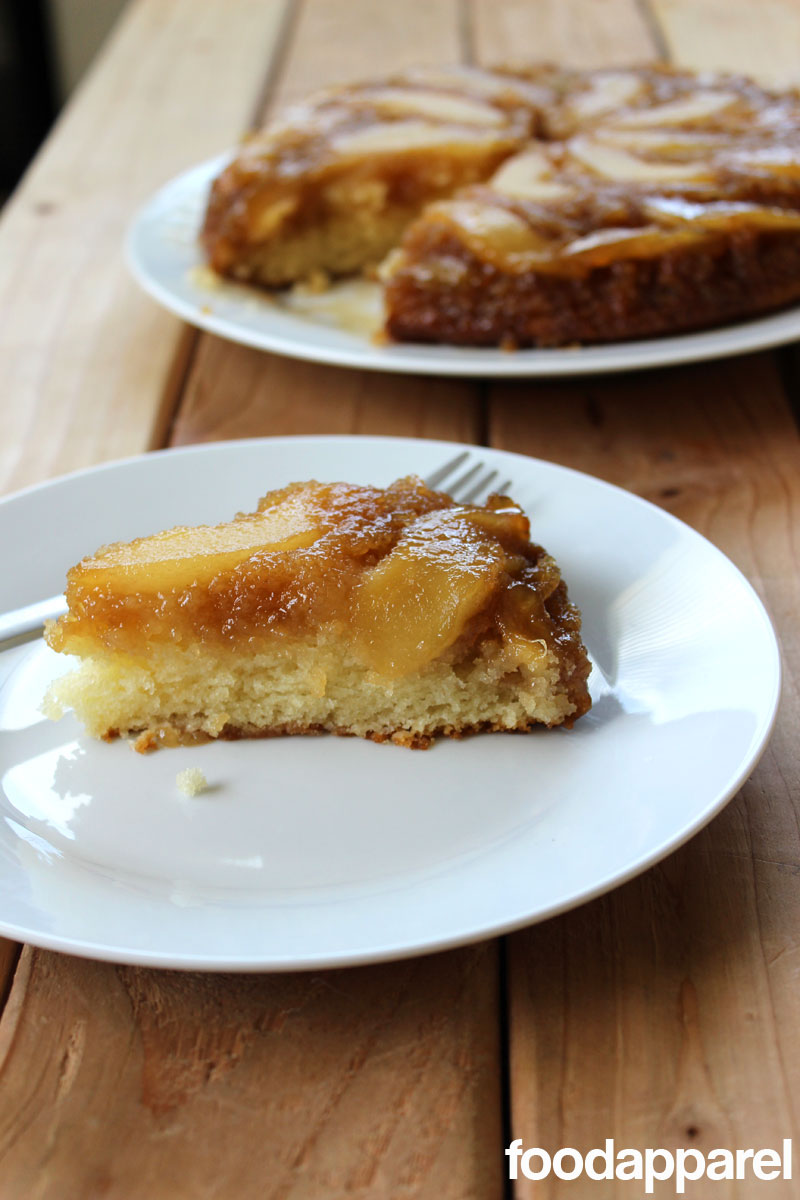 Pear Upside-Down Cake (Revisited): Classic Style