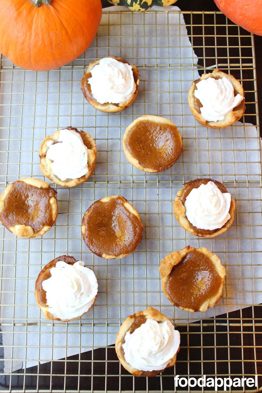 Mini Pumpkin Pies: Classic Style